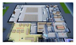 MDS-Isometrie gedeelde ruimtes